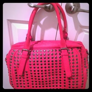 🎯Red Purse With Studs